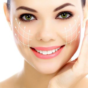 smiling woman after dermal fillers glasgow treament