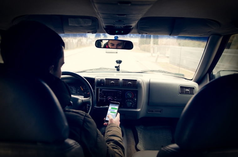 Want To Be Cool: Put The Phone Away While Driving